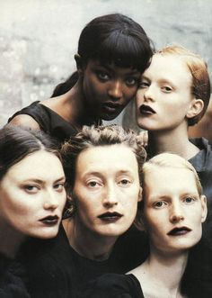 photos by Peter Lindbergh for Vogue, 1997