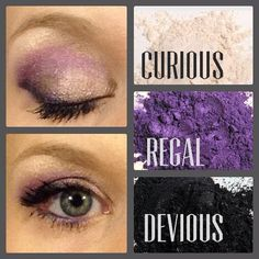 Younique pigments!  Contact me or Place Order @ www.youniqueproduct.com/samanthamyers
