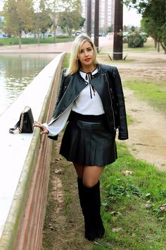 Leather Skirt, Sweet, Skirts, Style, Fashion, Fashion Trends, Candy, Swag, Moda