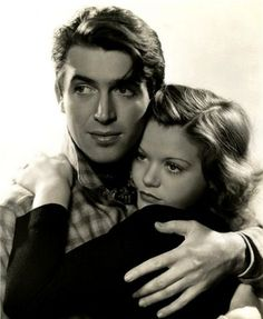 """Picture of Jimmy Stewart & Simone Simon for """"The Seventh Heaven"""" (1937), dir. Henry King"""
