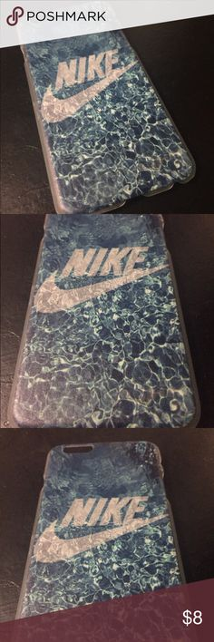 Brand new !! Nike brand iPhone 6 or 6s phone case This is a brand new iPhone 6 Or 6s phone case !! Nike brand !! TOP SELLER!! exellent high quality design !!, this sells out fast but when u can !!,  WATER DEISGN !! Nike Accessories Phone Cases