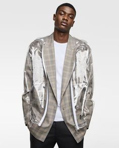 Image 2 of TRANSPARENT RAINCOAT from Zara
