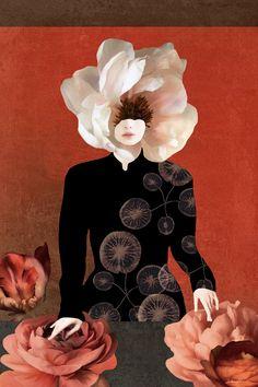 My Other Half, Surrealism Painting, Italian Artist, Happy Weekend, Savage, Fine Art, Art Daily, Flowers, Figurative