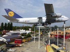 """Lufthansa Boeing 747-230 """"Schleswig Holstein"""" @ Speyer technik museum (2012)"""