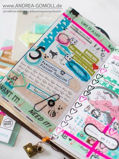 Creative Creations by Andrea Gomoll   Listers gotta List Challenge – first bunch of Pages   http://andrea-gomoll.de