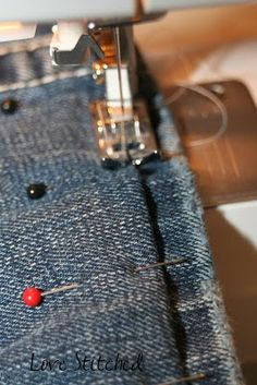 How to hem jeans {{Tutorial}}
