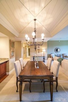 Home For Sale 143 Sundown Crest Old Edwards Club At Highlands Endearing Silver Creek Dining Room Decorating Design