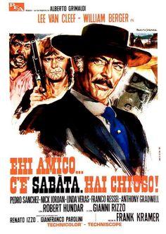 SABATA (Italian Poster)