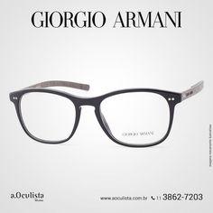 Óculos de grau da Armani.  Acesse  www.aoculista.com.br/giorgio-armani e confira!  Compre em Até 10x Sem Juros e frete grátis  #aoculista #armani #glasses #sunglasses #eyeglasses #oculos
