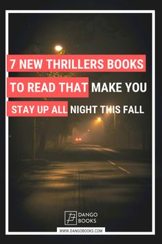 These seven all-new thrillers are guaranteed to freak you out and keep you up all night. From classic psychological thrillers to techno-thrillers, we got you covered! #dangobooks #bookworms #thrillerbooks #suspensebooks Thriller Books, Mystery Thriller, Mitch Rapp, Chicago Police Officer, The Searchers, R&b Artists, Adventure Novels, Fallen Book, Slow Burn
