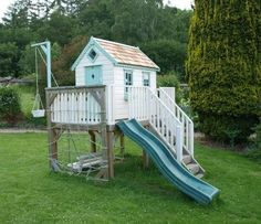 Fantastic playhouse, but probably outside my budget. Someday very soon I guess ;)