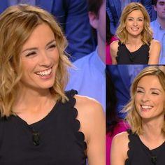 Présentatrice télé Anne-sophie Lapix fan