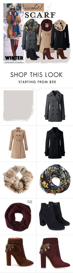 """""""winter scarf"""" by tulipano89 ❤ liked on Polyvore featuring Lands' End, Miss Selfridge, MANGO, Aéropostale, Monsoon and Aquazzura"""