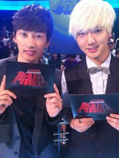 Eunhyuk and Yesung - Super Junior