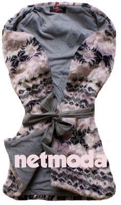 futrzana kamizelka norwegian, odzież damska http://netmoda.pl