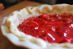 Strawberry Pie @wishfarms @sarahgshort #wishfarms #sarahgshort