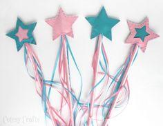 Cutesy Crafts: Felt Star Wands