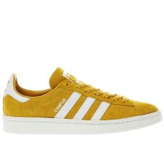 432c1f590bd5  Adidas yellow campus trainers  Stay on-trend with an old school court style