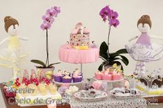 Exquisite Ballerina Party