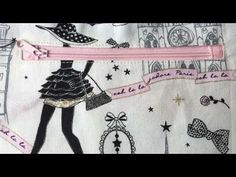 technical sewing tutorial: sew a pocket with zipper / zip / zip welt pocket with perfect interior finishes. for example pocket inside a bag - Sewing Online, Welt Pocket, Sewing Tutorials, Textiles, Diy, Bags, Techniques Couture, Angles, Crochet