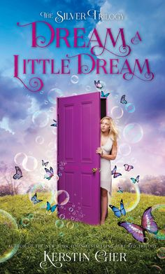 Cover Reveal: Dream a Little Dream (Silber #1) by Kerstin Gier -On sale January 6th 2015 by Henry Holt and Co.  -Mysterious doors with lizard-head knobs. Talking stone statues. A crazy girl with a hatchet. Yep, Liv's dreams have been pretty weird lately. Especially this one where she's in a graveyard at night, watching four boys perform dark magic rituals. The really weird thing is that Liv recognizes the boys in her dream.