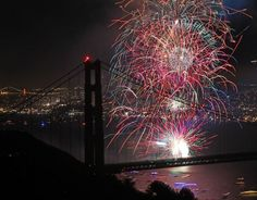 Get ready to celebrate the #4thOfJuly with this complete list of 120+ events and 50+ places to watch fireworks in the #BayArea