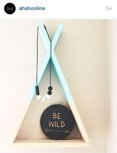 Our dark mint Ah Ah Online TEEPEE SHELF! Photo credit Mox Kids.