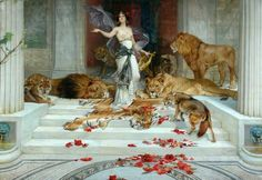 Circe. Wright Barker, c.1889