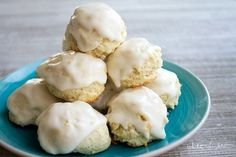 Italian Lemon Drop Cookies are a delicious dessert that's easy to make and so yummy! I bet you can't have just one!