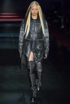 Vogue's 125 Most Memorable Fashion Shows of All Time -Hood By Air, Fall 2014