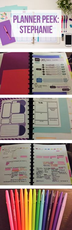 A DIY Planner using the discbound ARC system