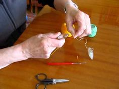 frivolitky návod 1 / tatting for beginners 1 - YouTube