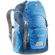 Deuter Junior (Coolblue/Check). http://backpackssuppy.com