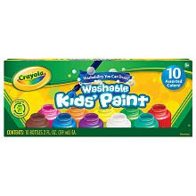 Crayola Washable Kid's Paint 10-Pack