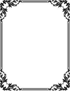 white frame png | Download free coreldraw tutorials | vector design