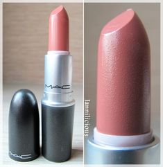 Mac Kinda Sexy. My Fav Peachy Nude Lip color.