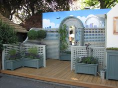 RHS Chelsea 2010 Gates, Garden Ideas, Chelsea, Arch, Shed, Exterior, Outdoor Structures, Longbow, Landscaping Ideas