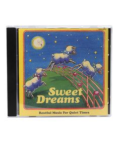 Look at this Sweet Dreams CD on #zulily today!