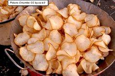 Barbecue Zucchini Chips Recipe (Double Recipe)
