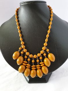 Beaded Necklace, Necklaces, Plastic, Vintage, Collection, Jewelry, Fashion, Beaded Collar, Moda
