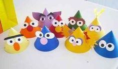 Making Merry Memories: Sesame Street Birthday - The Party Hats Birthday Party Hats, Elmo Party, Elmo Birthday, Birthday Ideas, Party Party, Sesame Street Party, Sesame Street Birthday, Anniversaire Elmo, In Kindergarten