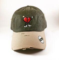 Olive/Khaki HeartBreakerClo Dad Hat  www.heartbreakerclo.com shop now !