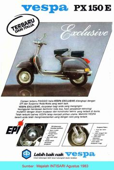 Old Vespa Adv from Indonesia