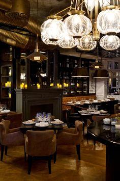 Nosh And Chow Restaurant Design