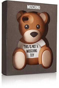 Moschino|Bear silicone iPhone 6 case|NET-A-PORTER.COM #accessories #moschino #covetme