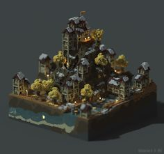 Old Village by CrnlMcPatatas on DeviantArt