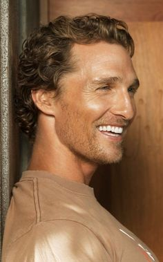 Matthew McConaughey, his hair is so inviting, just want to run your fingers through it, oops, day dreaming out loud ;-)