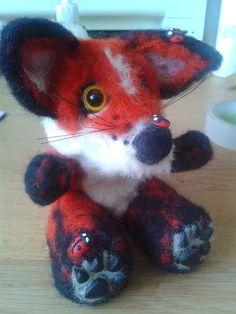 7.Custom Fox Needle felt/ sculpt/ keepsake