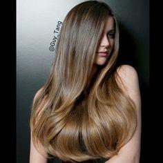 @bellamihair Balayage #2/#6 Hair Extensions