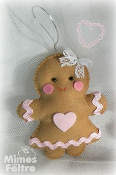 Enfeite de Arvore de Natal ♥ Biscoitinha